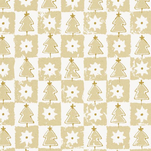Weihnachtswald auf Graspapier